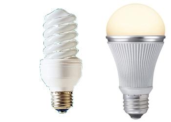電球型蛍光灯・LED電球
